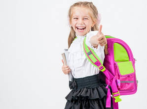 Школьные рюкзаки, ранцы для девочек