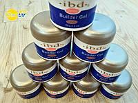УФ гель IBD 56 g UV gel нарощивание ногтей Lina Лина маникюр ІБД 56 грам ИБД манікюр