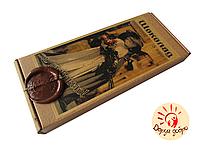 """Шоколад подарочный """"С любовью"""" молочный с курагой 150 гр"""