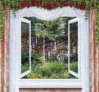 Фотообои из бумаги для стен 201*194 см , 12 листов, Пейзажи, Утренняя Свежесть