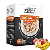 BioTech Protein Gusto - Oat&Whey with Fruits Банан-Яблоко | 340 г