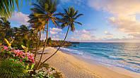 Фотообои из плотной бумаги на стену 345*192 см , 20 листов, Моря, реки, озера, океаны, Бали