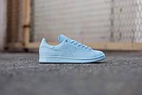 Женские кроссовки Adidas x Raf Simons Stan Smith Blue