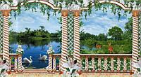 Фотообои из бумаги для стен 388*201 см , 24 листов, Пейзажи, Феличита