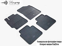 Коврики резиновые Geely Emgrand X7 2012- Stingray