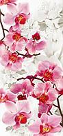 Фотообои из плотной бумаги на стену 96*207 см , 6 листов, Пейзажи, Цветы, Орхидеи