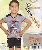 Летний комплект для прогулок и отдыха для мальчика, фото 1