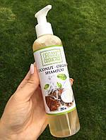 Натуральный органический шампунь ORGANIC COSMETICS, на основе кокосового масла, безсульфатный, 250 мл