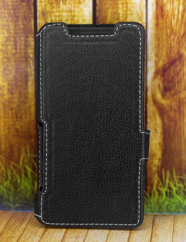 Чехол книжка для Prestigio PSP5507DUO (вид спереди)
