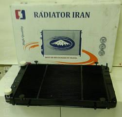 Радиатор Газель Бизнес 2 рядный медный (пр-во Иран Радиатор)