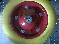 Колесо к тачке полиуретановое 3.00-8 (345/65мм)