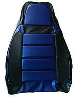 Авточехлы Pilot ВАЗ 2108 - 2115 кожвинил синие