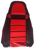 Авточехлы Pilot ВАЗ 2108 - 2115 кожвинил красные