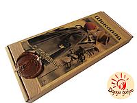 """Шоколад подарочный """"С любовью"""" молочный с фиником 150 гр"""