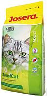 Josera SensiCat - корм для кошек с чувствительным пищеварением (утка,индейка), 10 кг