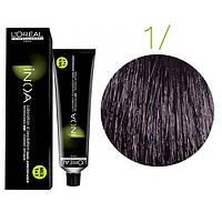 Inoa краска для волос без аммиака 1 черный, 60 мл