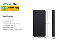 Внешний аккумулятор CHUWI M10 Quick Charge 3.0 10000mAh
