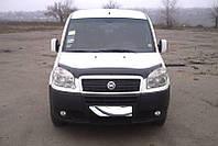Дефлектор капота, мухобойка FIAT Doblo 2005- SIM