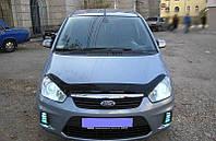 Дефлектор капота, мухобойка FORD C-MAX 2007- SIM
