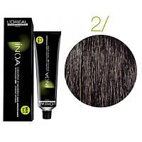 Inoa краска для волос без аммиака 2 брюнет глубокий, 60 мл