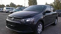 Дефлектор капота, мухобойка Volkswagen POLO 09- SIM