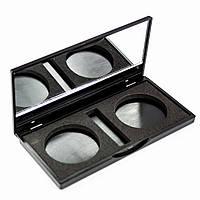 Пустой пан для теней с зеркалом 2 цвета Beauties Factory Empty Eyeshadow Case