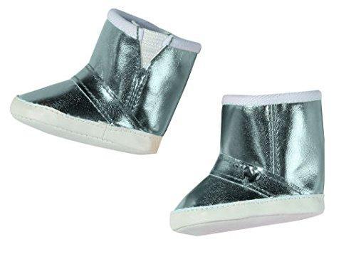 Обувь куклы Беби Борн Сапожки зимние серебро Baby Born Zapf Creation 819449