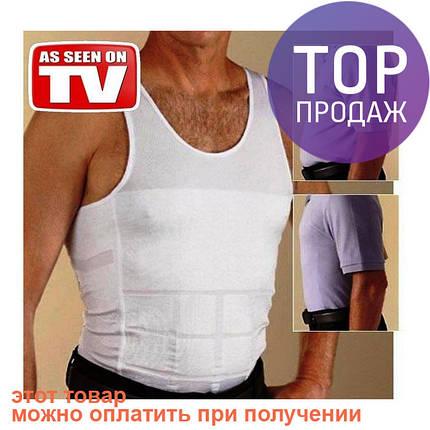 Мужская майка для похудения корректирующая талию, фото 2