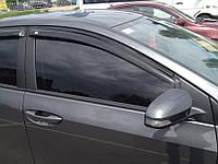Дефлекторы окон, ветровики TOYOTA COROLLA седан 2013- SIM
