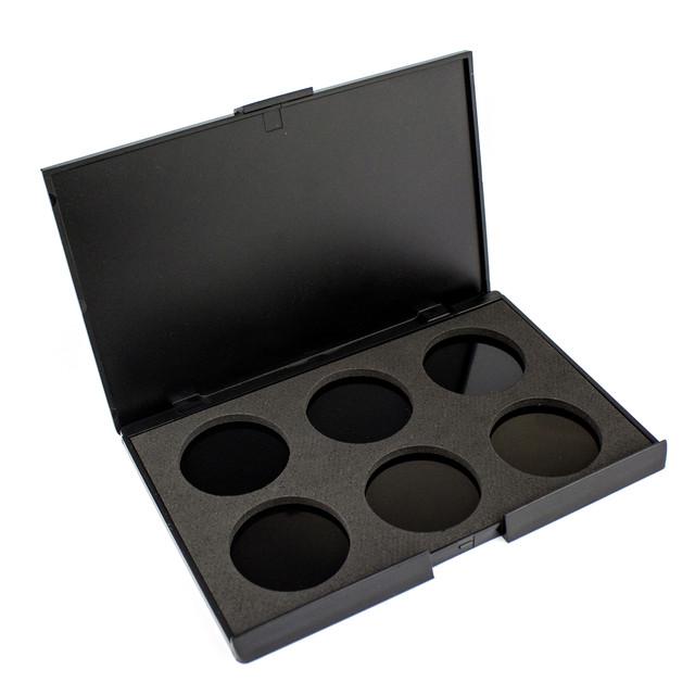 Пустой пан для теней 6 цветов Beauties Factory Empty Eyeshadow Case