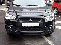 Дефлектор капота, мухобойка Mitsubishi ASX с 2010 г.в. VIP