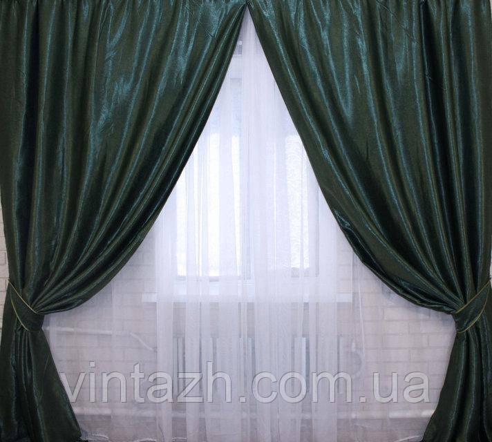 Комплект готовых штор в гостиную