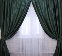 Комплект готовых штор в гостиную , фото 1
