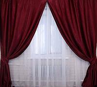 Красивые шторы с тюль, фото 1