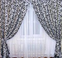 Плотные шторы и тюль для дома