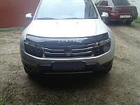 Дефлектор капота, мухобойка Renault Duster с 2010 г.в. VIP