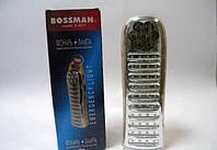 Фонарь/лампа Bossman 7 LED + 40 SMD LED в кор. /1/(B-6811)