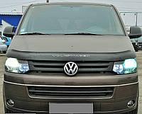 Дефлектор капота, мухобойка Volkswagen T-5+ с 2009 г.в. VIP