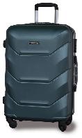 Пластиковый чемодан на колёсах Suitcase средний (Польша)