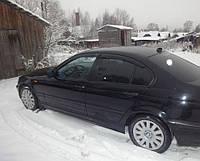 Дефлекторы окон, ветровики BMW 3 (E46) Sd 1998-2005 Cobra