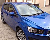 Дефлекторы окон, ветровики Chevrolet Aveo Hb 5d 2011- Cobra
