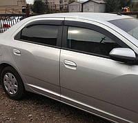 Дефлекторы окон, ветровики Chevrolet Cobalt 2012- Cobra