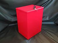 Ящик красный с замком 250*350*200