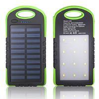 Портативное зарядное устройство Power Bank SOLAR 40000mAh с солнечной зарядкой