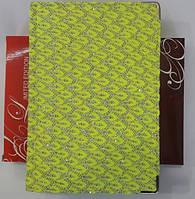 Дневник А5 частично датирован, клетка, одноцветный, металический торец, 196 лист, рус(WB5536)