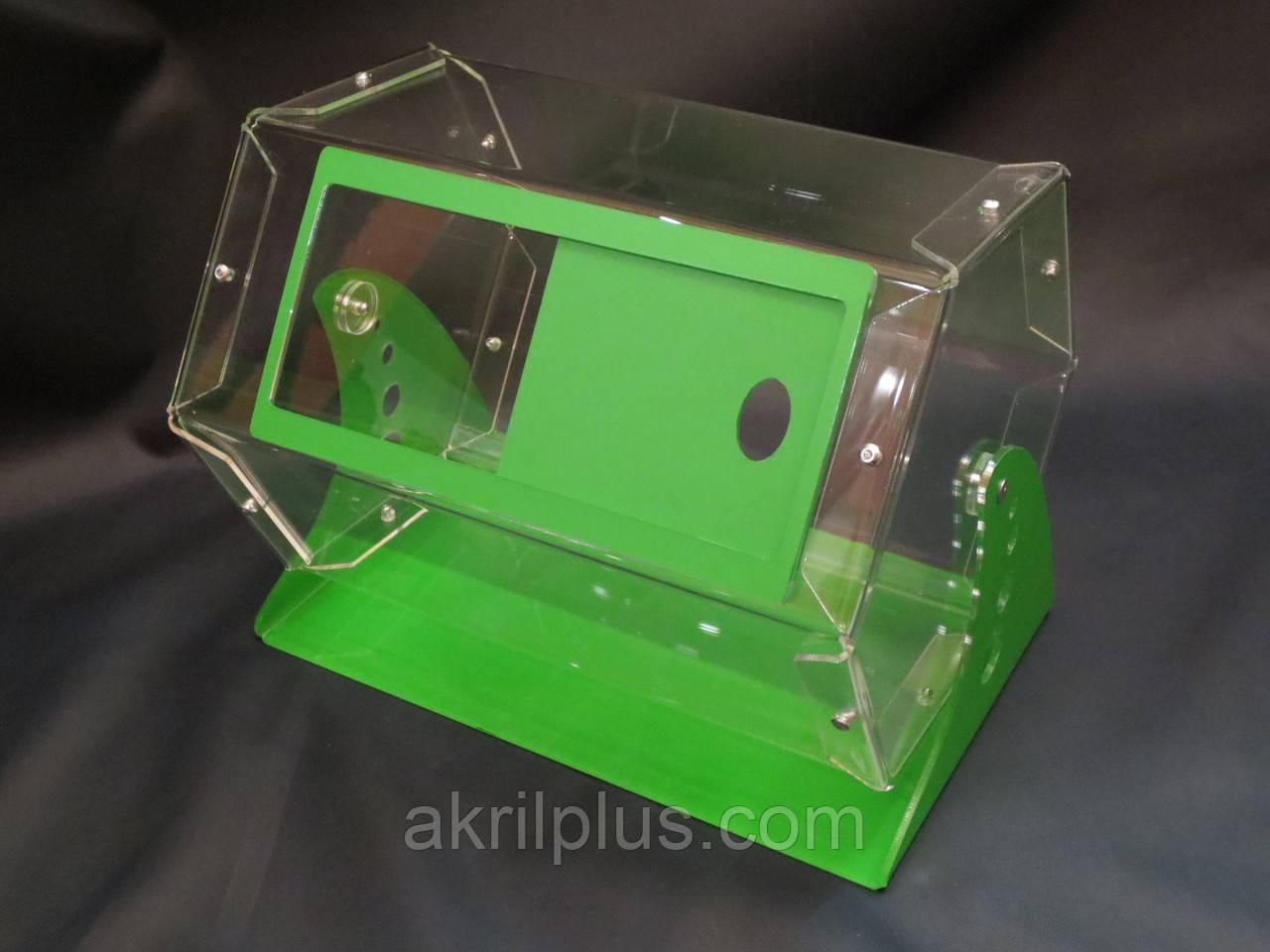 Лототрон для проведения розыгрышей на 5,5 л цветной