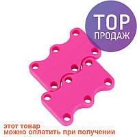 Магнитные шнурки Magnetic Shoelaces 42мм Pink