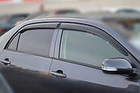 Дефлекторы окон, ветровики TOYOTA Corolla Sd 2007- Cobra