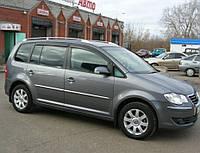 Дефлекторы окон, ветровики Volkswagen Touran I 2003-2010 Cobra