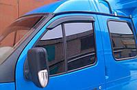 Дефлекторы окон, ветровики ГАЗ Газель, Соболь короткие Cobra